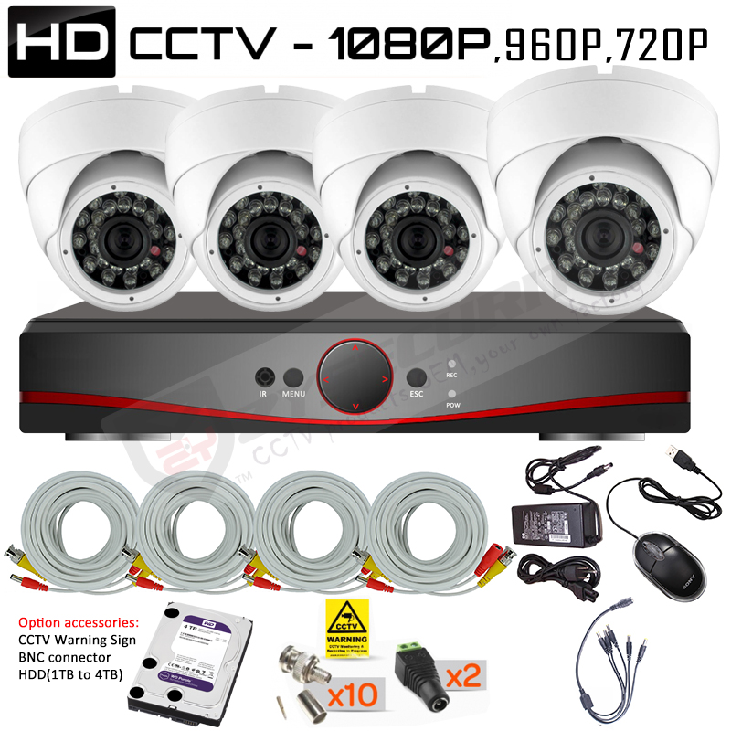 CCTV Camera Packages, Home Package, Small user Package
