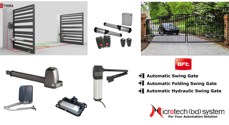 Automatic Swing Gate , Hydraulic Swing Gate Provider in Bangladesh